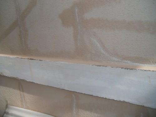 シーリング材でひび割れ補修