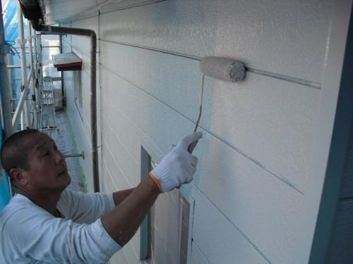 川口による横須賀市でのサイディング外壁塗装
