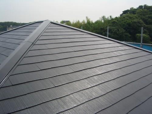 屋根の塗替え完了写真